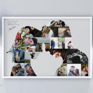 Romantikus fényképes ajándék