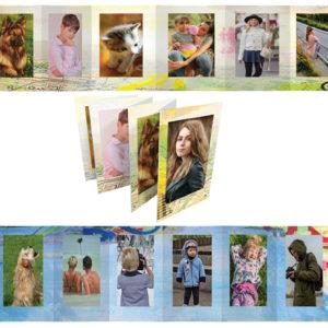 Fényképes fotófüzet fotókönyv