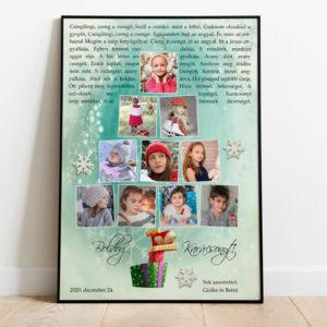 Karácsonyfa poszter