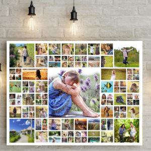 100 db-os fotókollázs ajándék