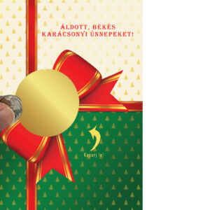 Egyedi kaparós sorsjegy, személyre szóló, névre szóló, gyerekeknek, kislánynak felnőttnek, vicces ajándék, ajándék kisérő, különleges vicces ajándék kaparós titkos üzenet secret message apró ajándék, figyelmesség, apróság, karácsonyi üdvözlőlap